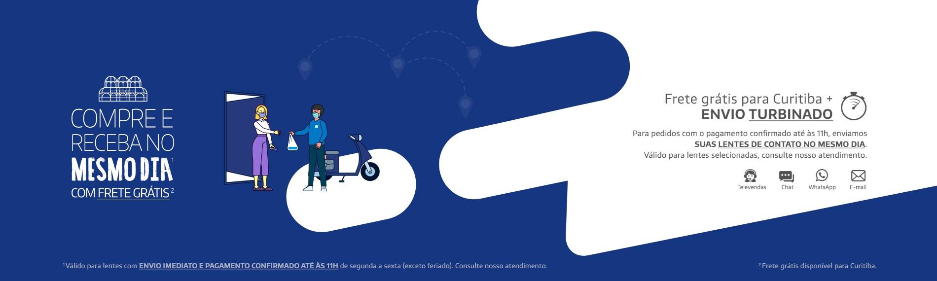 Curitiba + Atendimento