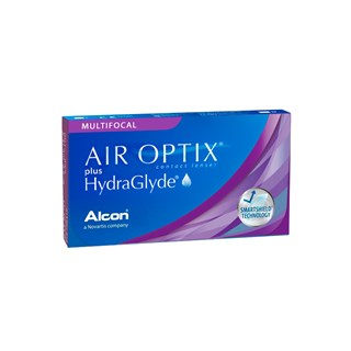 Lentes de Contato Air Optix Aqua Multifocal