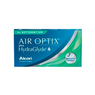 Lentes de Contato Air Optix Plus HydraGlyde Astigmatismo