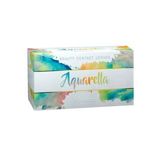Lentes de Contato Coloridas Aquarella - Trimestral - COM GRAU