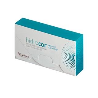 Lentes de Contato Coloridas Hidrocor - Mensal - SEM GRAU