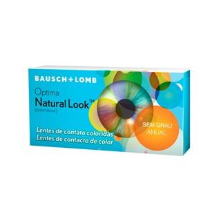 Lentes de Contato Coloridas Optima Natural Look - Anual - SEM GRAU