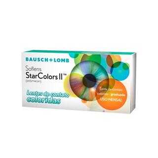Lentes de Contato Coloridas Soflens StarColors 2 - Mensal - COM GRAU