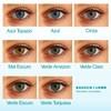 Lentes de Contato Coloridas Soflens StarColors 2 - Mensal - SEM GRAU