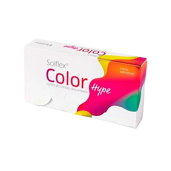 Lentes de Contato Coloridas Solflex Color Hype - Mensal - SEM GRAU