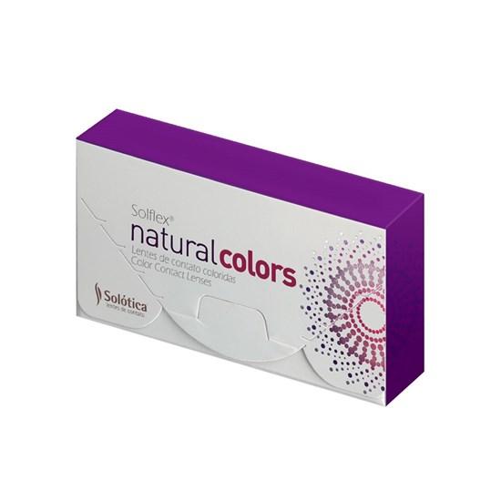 Lentes de Contato Coloridas Solflex Natural Colors - Mensal - COM GRAU