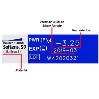 Lentes de Contato SofLens 59
