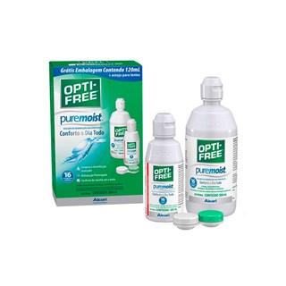 Solução Opti-Free PureMoist 300ml + 120ml